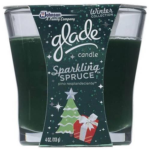 Glade Gld Hldy Candle Sparking Spruce 4oz