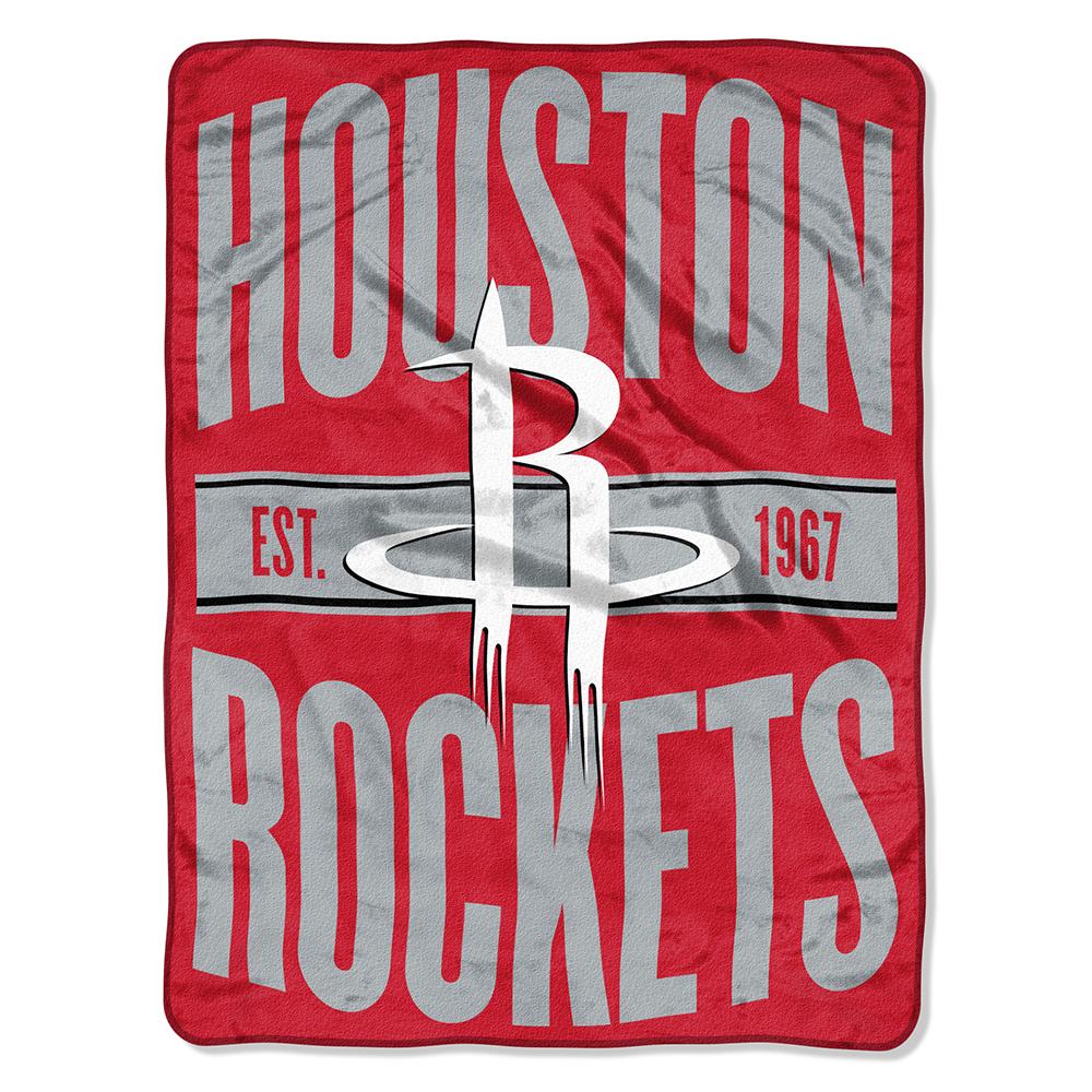 "NBA Houston Rockets ""Clear Out"" 46""x 60"" Micro Raschel Throw"