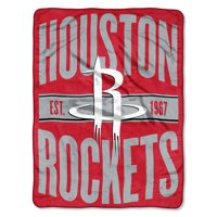 "NBA Houston Rockets ""Clear Out"" 46""x 60"" Micro Raschel Throw"