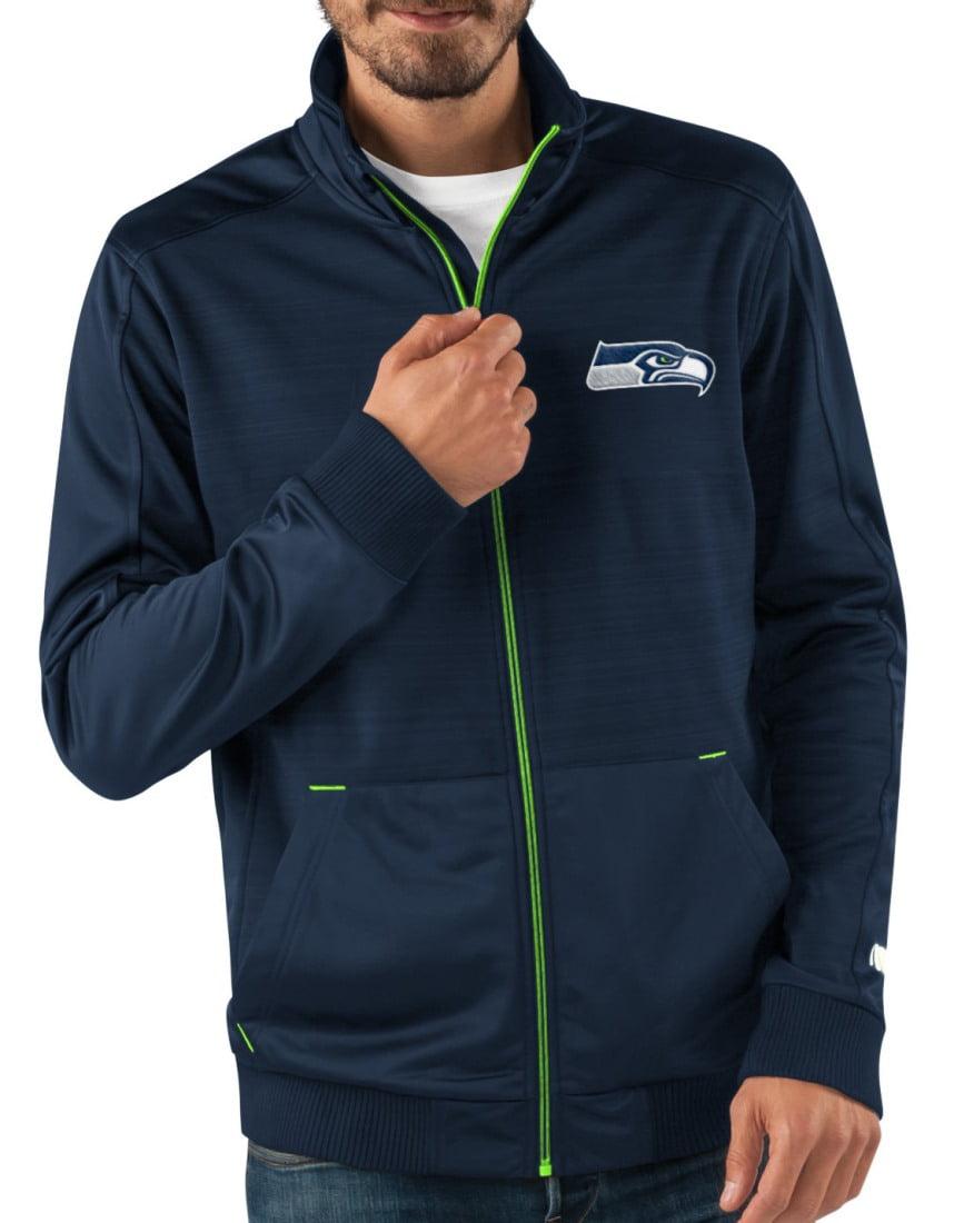 """Seattle Seahawks NFL G-III """"Progression"""" Men's Full Zip Track Jacket by G-III Sports"""