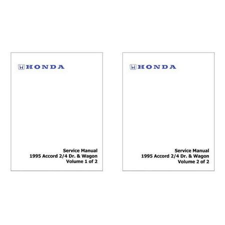 Bishko OEM Repair Maintenance Shop Manual Bound for Honda Accord 2/4 Dr. & Wagon