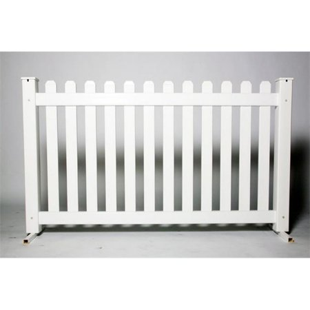 SignaturePanel 102532 Picket Fence Panel, 42 inch x 6 ft.