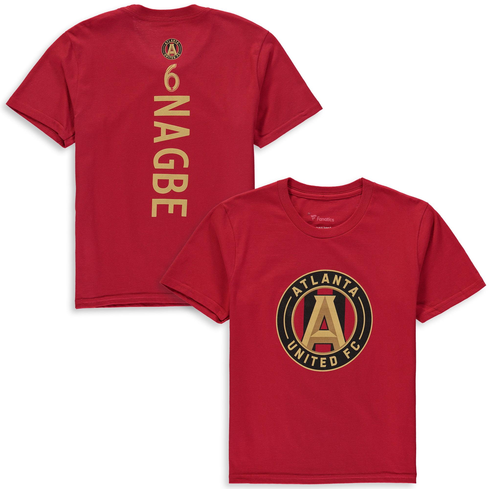Darlington Nagbe Atlanta United FC Fanatics Branded Youth MLS Backer T-Shirt - Red
