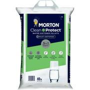 Morton® Salt Clean and Protect® Plus Rust Defense® Water Softener Salt Pellets, 40 lb. Bag