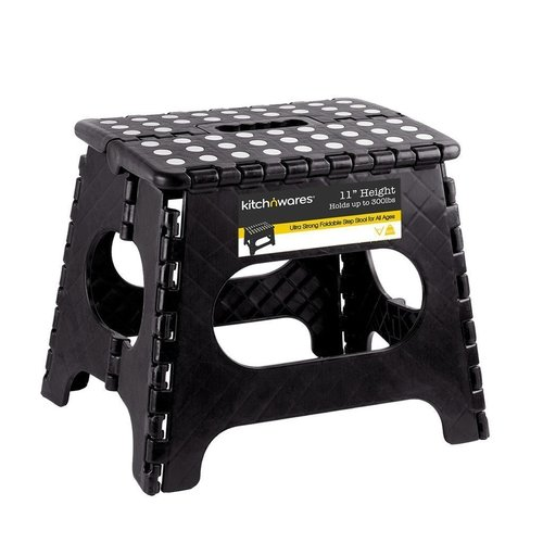 Folding Step Stool With Handle 9 Inch Heavy Duty Safe Non Slip