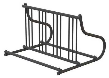 """48"""" Double Sided Bike Rack, Black ,Madrax, GR110-B by MADRAX"""