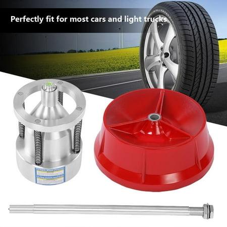 Yosoo Tire Balancer Truck Wheel  Balancer,Car Truck Portable Hubs Wheel Tire Balancer Bubble Level Heavy Duty Rim ()