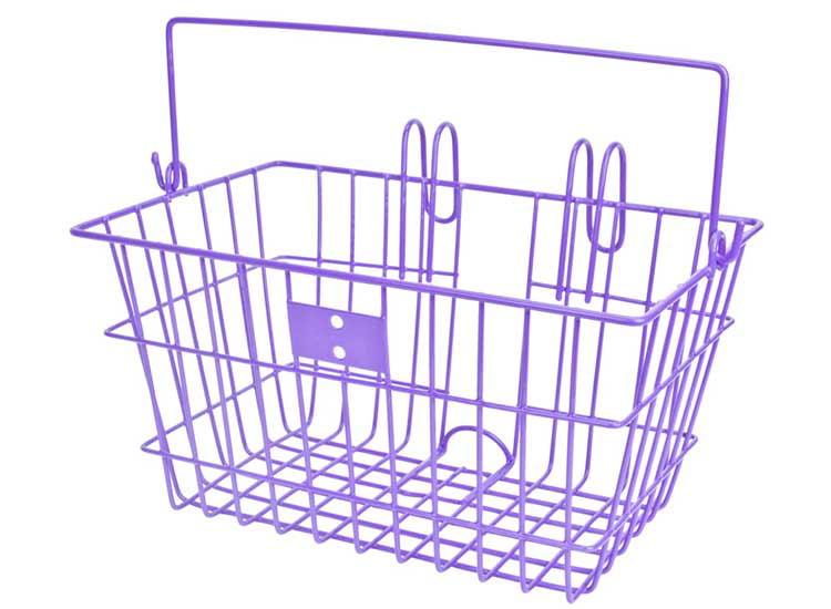 Sunlite Basket Ft Wire L//O Pnk 14.5X8.5X7