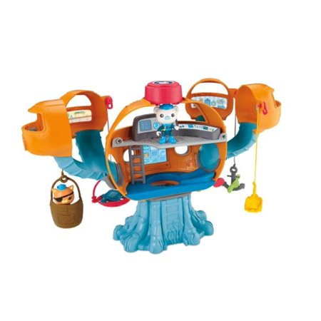 T7016 Fisher-Price Octonauts Octopod Playset - Octonauts Characters Tweak