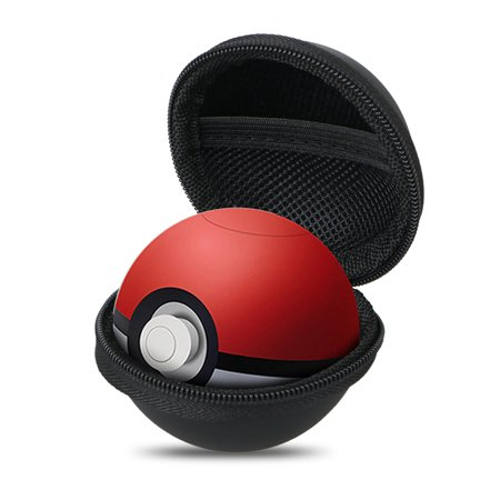Carrying Case Cover for Nintendo Switch Poke Ball Plus Controller, Hard EVA Protective Storage Case Fit for Pokemon Lets Go Eevee PokeBall Plus, Pokemon Lets Go Pikachu Poke Ball Plus