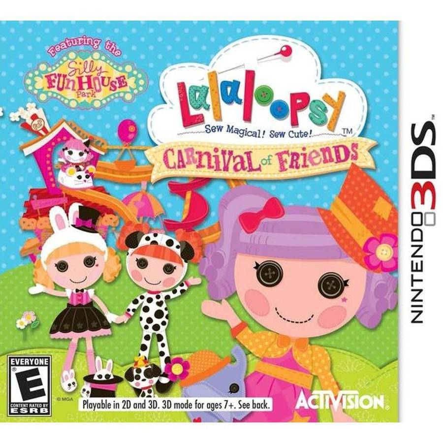 Lalaloopsy: Carnival of Friends (Nintendo 3DS)
