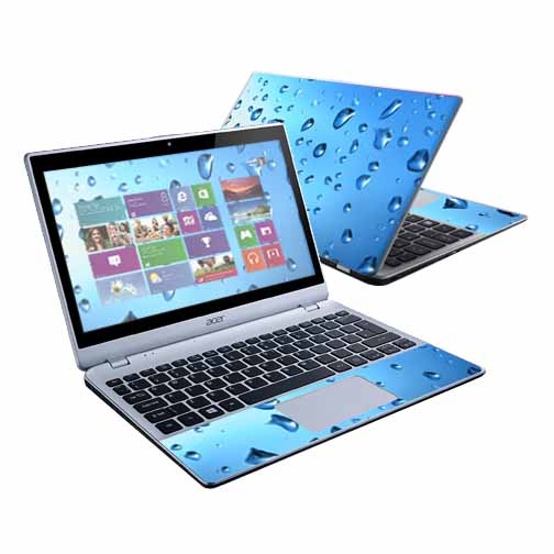 "Mightyskins Protective Skin Decal Cover for Acer Aspire V5-122P Laptop with 11.6"" touch screen wrap sticker skins Furry"