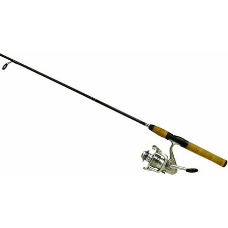 Shakespeare cirrus spinning reel and fishing rod combo for Fishing pole walmart