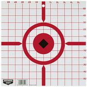 "Birchwood Casey Rigid Crosshair Sight-In Target 12"" (Per 10)"