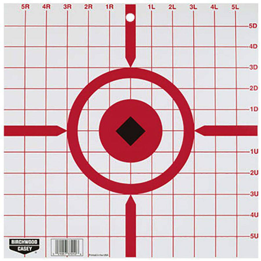 "World Of Target 37210 Rigid Paper Target, Sight-In, 12"", 10pk"