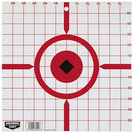 Birchwood Casey Rigid Crosshair Sight-In Target 12