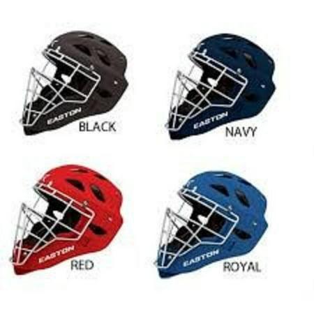 Easton Rival grip baseball softball catchers gear hockey style helmet mask ()