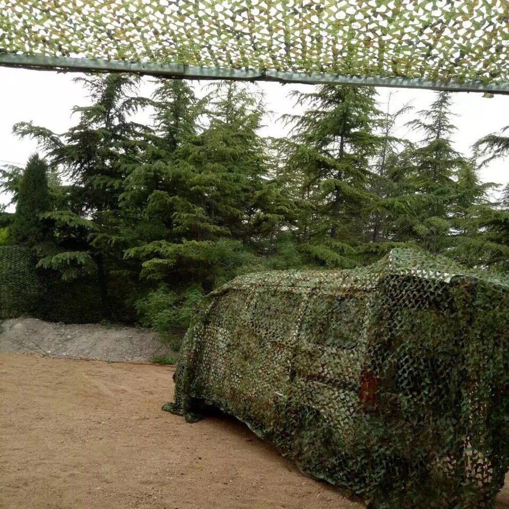 20 X 5 Feet Woodland Leaves Military Camouflage Net Hunting String Netting Hunting Military Army Camouflage Net Sun... by MUSIF