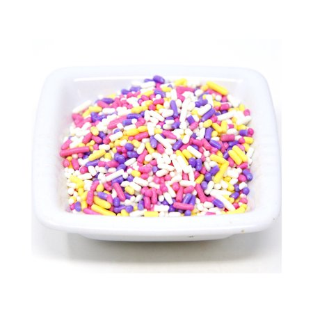 Black Sprinkles For Cupcakes (Oasis Supply, Easter and Spring,Cake Cupcake Topper Sprinkle Quins, 8 oz (Spring Sprinkle)