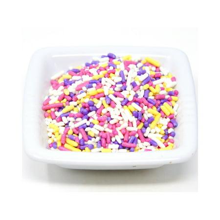 Mid Spring (Oasis Supply, Easter and Spring,Cake Cupcake Topper Sprinkle Quins, 8 oz (Spring Sprinkle Mix))