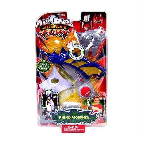 Power Rangers Jungle Fury Rhino Morpher Roleplay Toy by