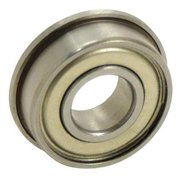 EZO SFR168ZZA3MC3SRL Ball Bearing,0.2500in Dia,38 lb,Flanged