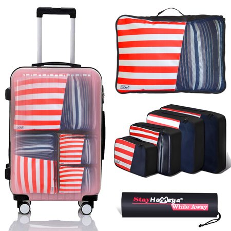 3d454e557e27 iClover - Luggage Packing Organizer Bags,iClover Travel Packing ...