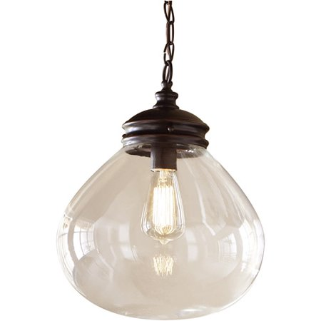 Belair Lighting Filament Bulb 1 Light Drop Pendant