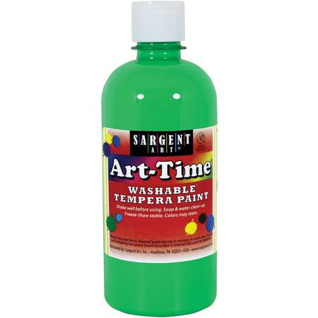 Sargent Art Neon Green Tempera Paint, 16 Oz. (Green Airbrush Paint)
