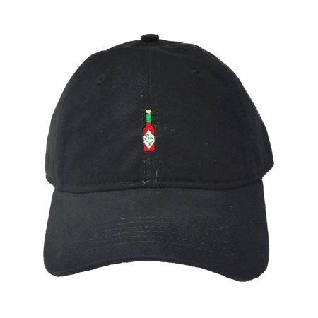 Go All Out Adult Hot Sauce Embroidered Deluxe Dad Hat