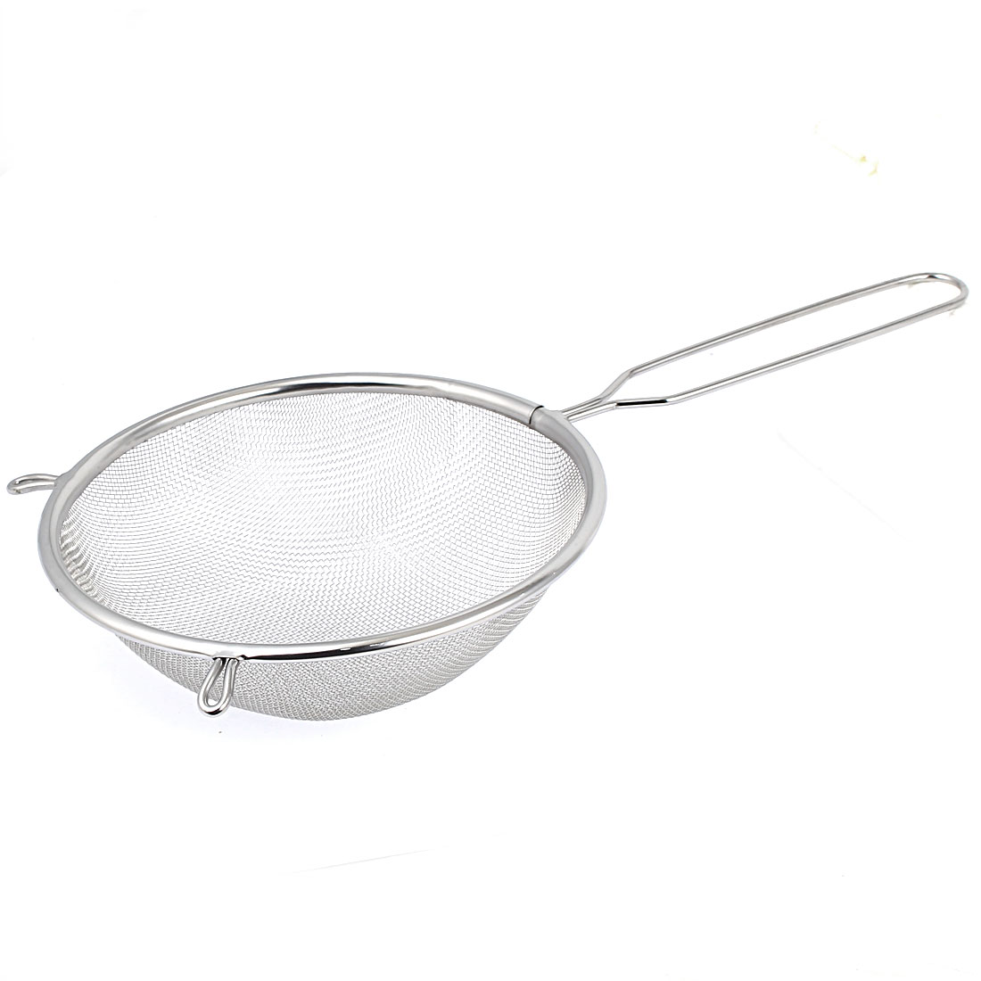 "6.3"" Dia Home Kitchen Stainless Steel Fine Mesh Wire Flour Colander Sifter Sieve Oil Strainer by"