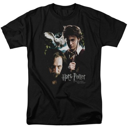 Harry Potter Harry And Sirius Mens Short Sleeve Shirt