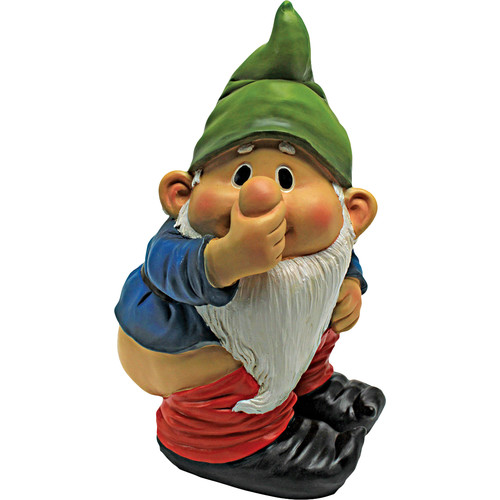 Design Toscano Stinky the Garden Gnome Statue (Set of 2) by Design Toscano