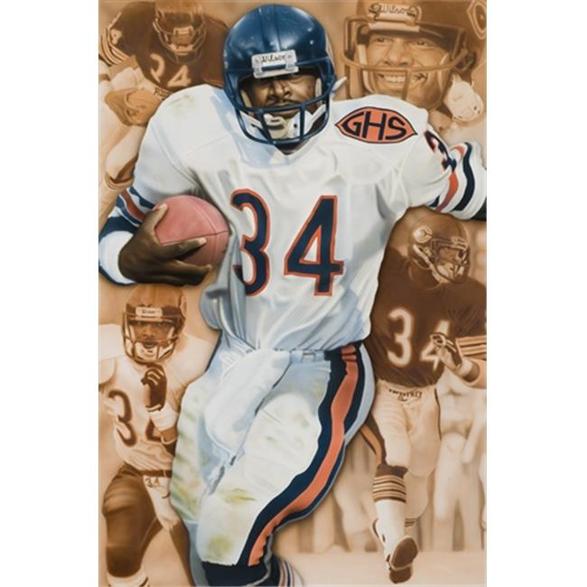 Deacon Jones Foundation RJ-10R Sweetness Art Print, by Rob Jackson - Rolled
