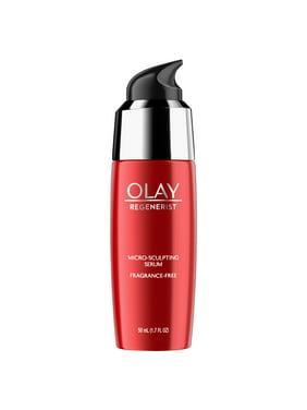 Olay Regenerist Micro-Sculpting Serum, Fragrance Free Face Moisturizer 1.7 fl oz