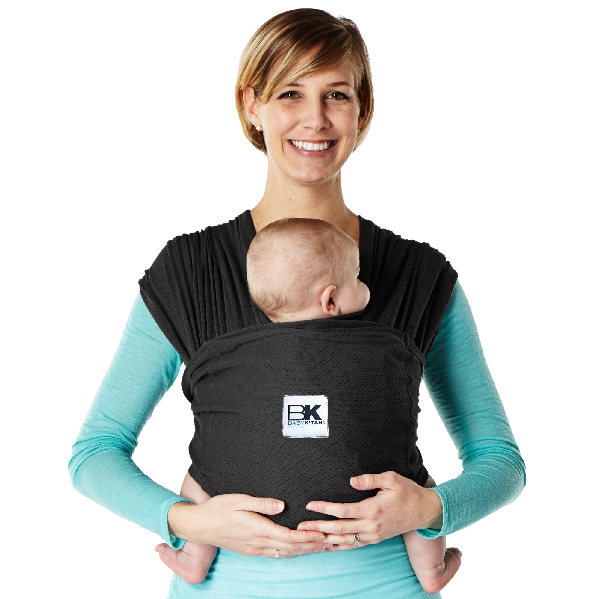 Baby K'tan BREEZE Baby Carrier - Black- M