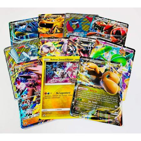 Pokemon TCG 5 Oversized Jumbo Pokemon Cards