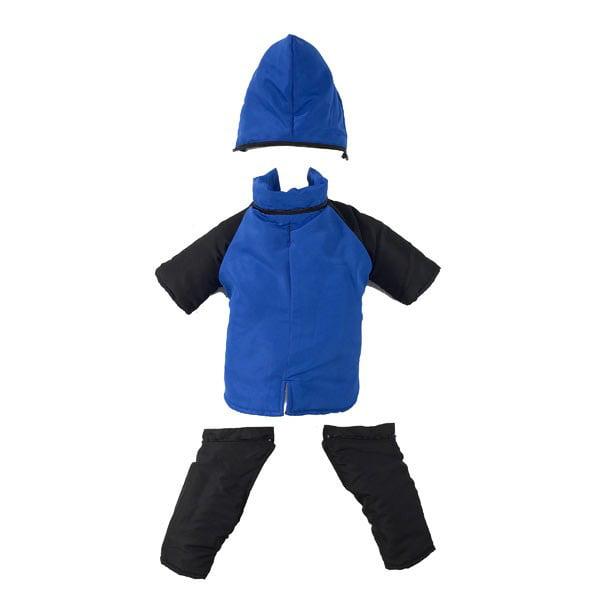 Casual Canine Snowsuit L Blu