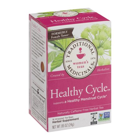 Traditional Medicinals - Healthy Cycle, Herbal Tea, 16 Count