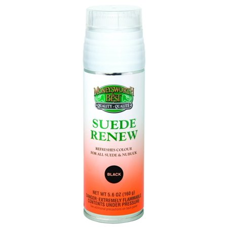 Moneysworth & Best Suede Renew Dye / Conditioner Color Spray 165 g / 5.8