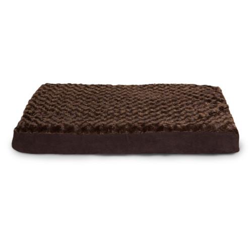 FurHaven Deluxe Ultra Plush Cooling Gel Foam Pet Bed