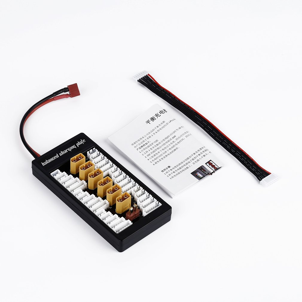 Expansion Board XT60 Reable Lipo Battery Adapter for imax B6 B6AC UN-A6 r