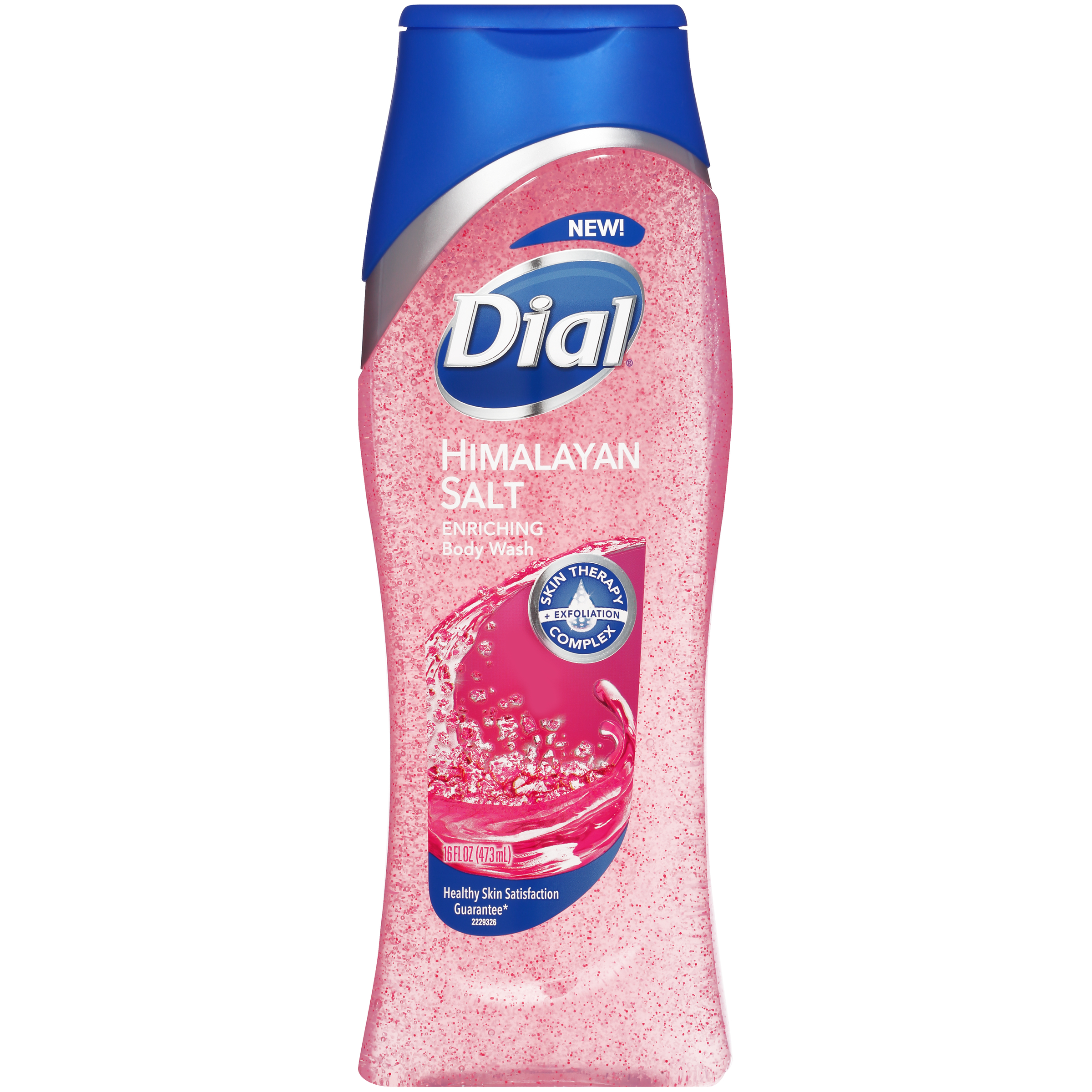 (3 pack) Dial Skin Therapy Body Wash, Himalayan Salt, 16 Ounce