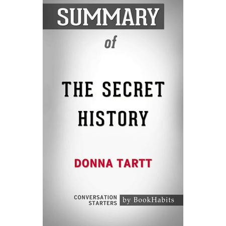 Summary The Secret History: A Novel by Donna Tartt | Conversation Starters - eBook](History Halloween Summary)
