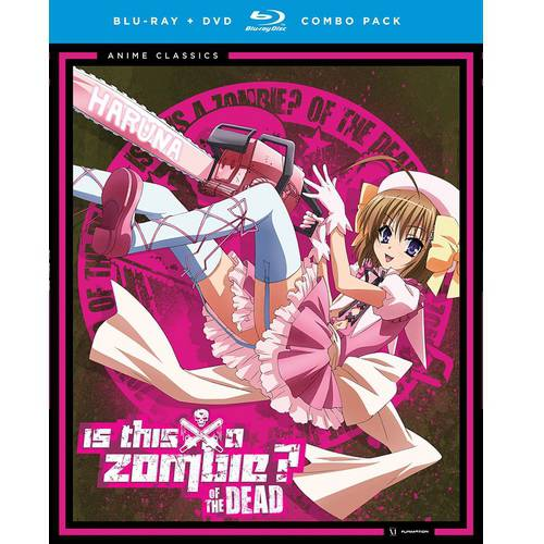 Is This A Zombie  Of The Dead  Season 2   Anime Classics  Blu Ray   Dvd   Widescreen