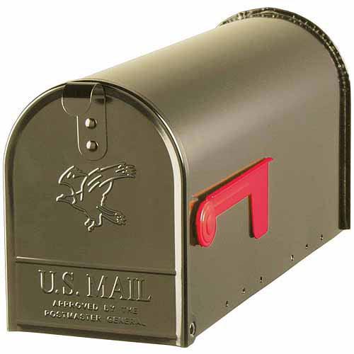 Solar Group Inc E11BZ Bronze Elite Premium Steel Mailbox by Wood Textures Inc
