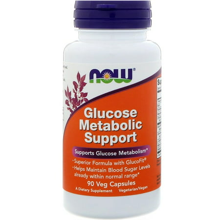 Now Foods, Glucose Metabolic Support, 90 Veg Capsules(pack of 1)