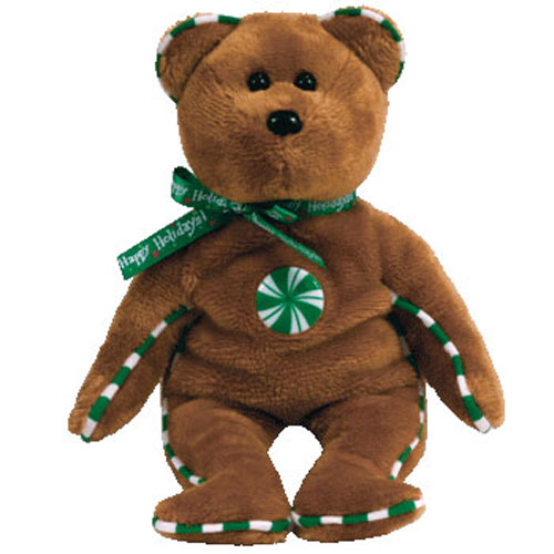 TY Beanie Baby - SPEARMINT the Bear (Hallmark Gold Crown Exclusive) (8.5 inch) Rare!