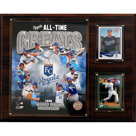 C&I Collectables MLB 12x15 Kansas City Royals All-Time Greats Photo Plaque