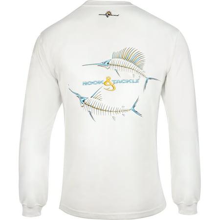 - Hook & Tackle Marlin & Sail X-Ray Long Sleeve Tech Tee